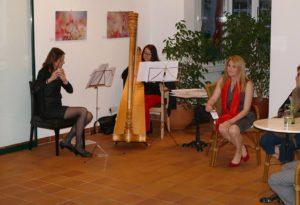 Barbara Schmidinger, Lydia Stix und Julia Rotter