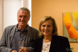 Dir. Lemmerer und Frau Mayr, Seniorenresidenz Veldidenapark